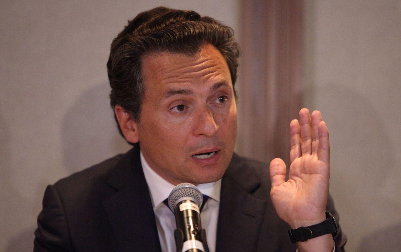 Emilio Lozoya, ex director de Pemex durante la administración de Enrique Peña Nieto en México.