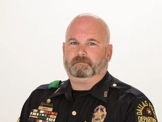 """Sgt. Bronc """"Bronco"""" McCoy, 48, died from COVID-19 complications on Monday, becoming the police department's first officer to die from the virus behind the pandemic."""