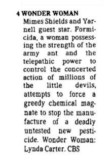 "From ""Channel Choices"" in the Nov. 3, 1978, edition of The Dallas Morning News"