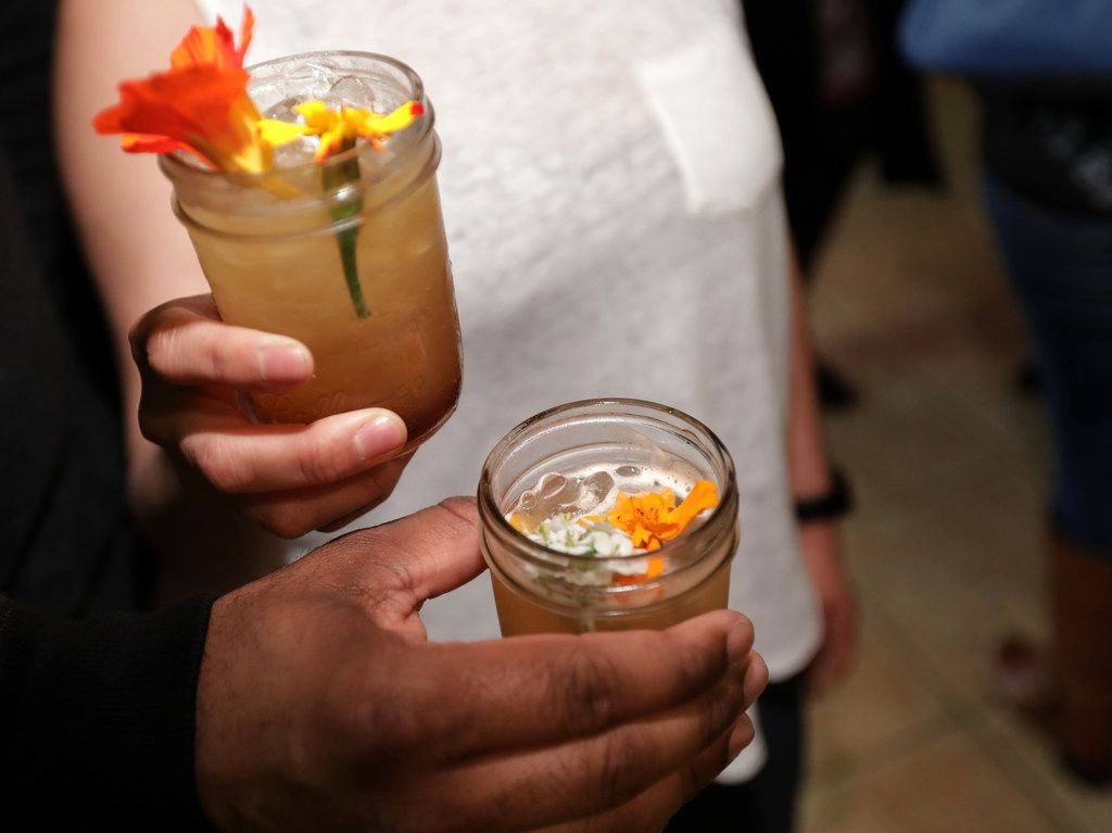 The Marigold Rush cocktail