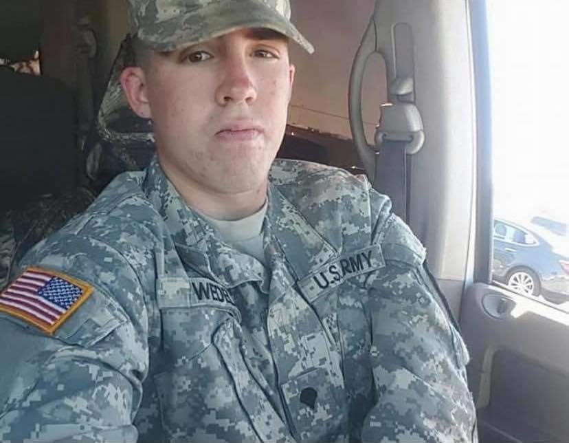 Gregory Wedel Morales estaba en sus últimos días como soldado en la base militar de Fort Hood cuando desapareció, el 19 de agosto del 2019. El Ejército lo reportó como desertor; el viernes encontraron sus restos cerca de la base militar.