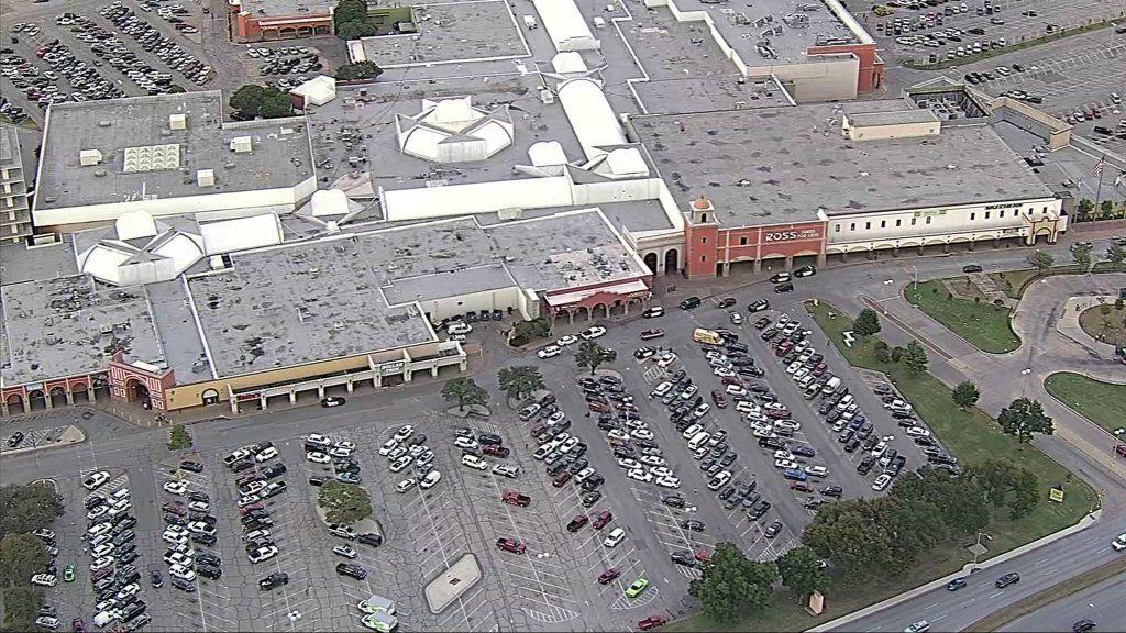 Imagen aérea de La Gran Plaza el 15 de septiembre de 2021, en Fort Worth.
