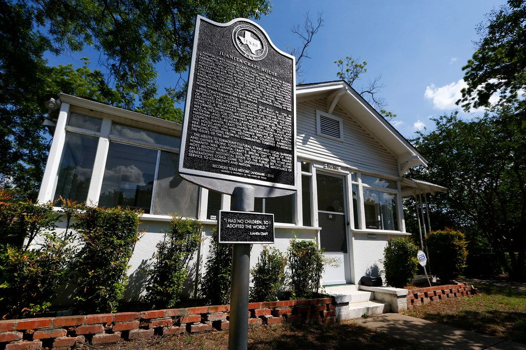 The Juanita Craft House in South Dallas on May 23, 2018. The Juanita Craft House is home of the late civil rights activist-turned-council member where Jimmy Carter, Martin Luther King Jr., Thurgood Marshall and LBJ were visitors.