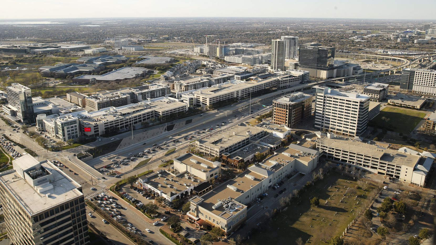 The $3 billion Legacy West project has been open since 2014.