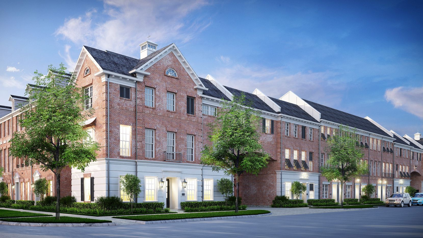 InTown Homes is building 170 townhouses on Belt Line Road in Addison.