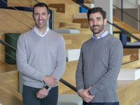 Michael Walsh (left) and Steven Theesold are co-founders of health care technology company Cariloop. Walsh is the company's CEO, and Theesold is chief integrity officer.