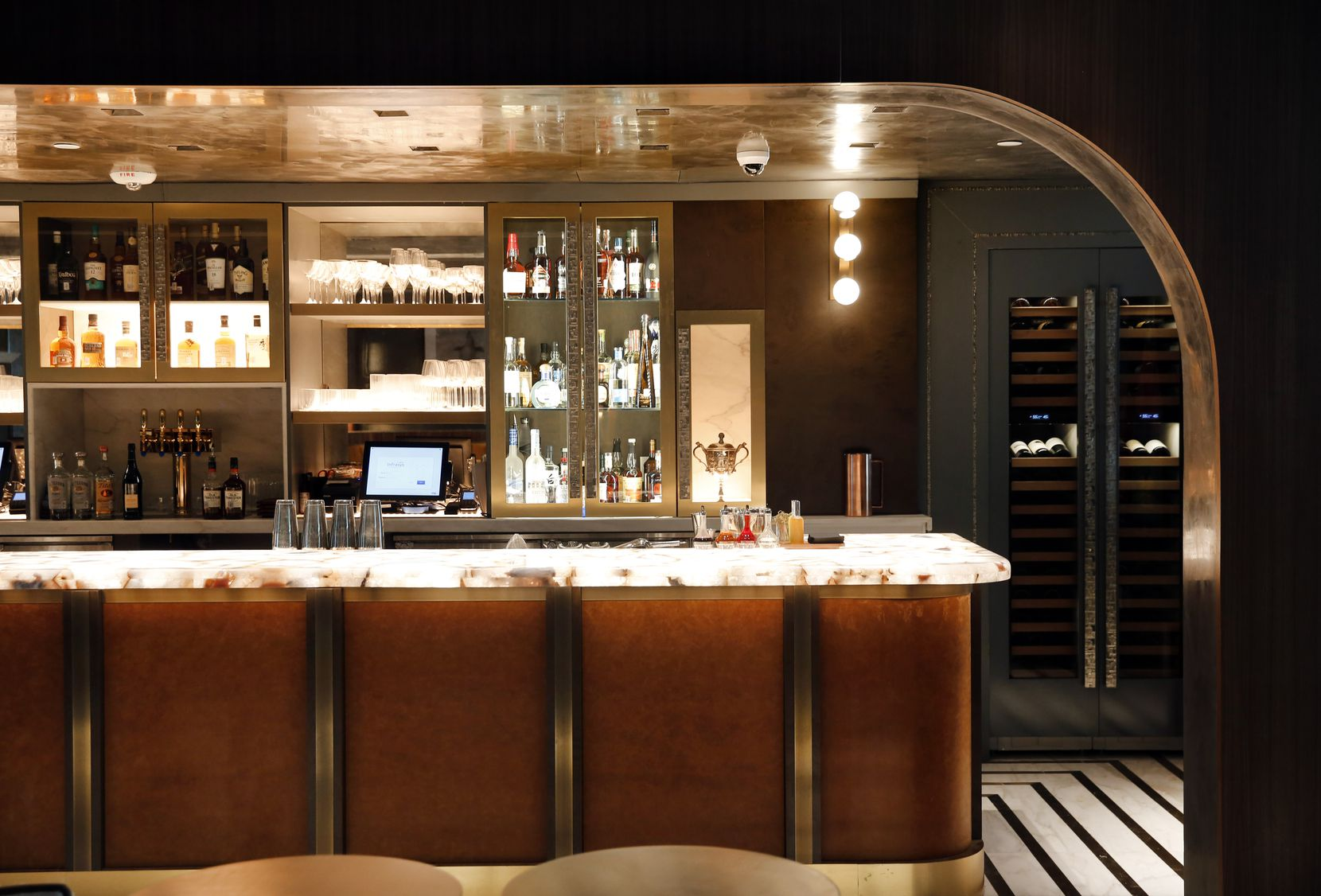 Catbird is inside the Thompson Hotel in downtown Dallas.