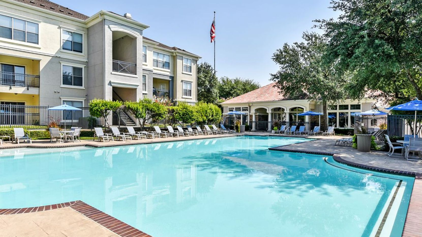 The Abbey at Vista Ridge apartments in Lewisville were part of the big sale.