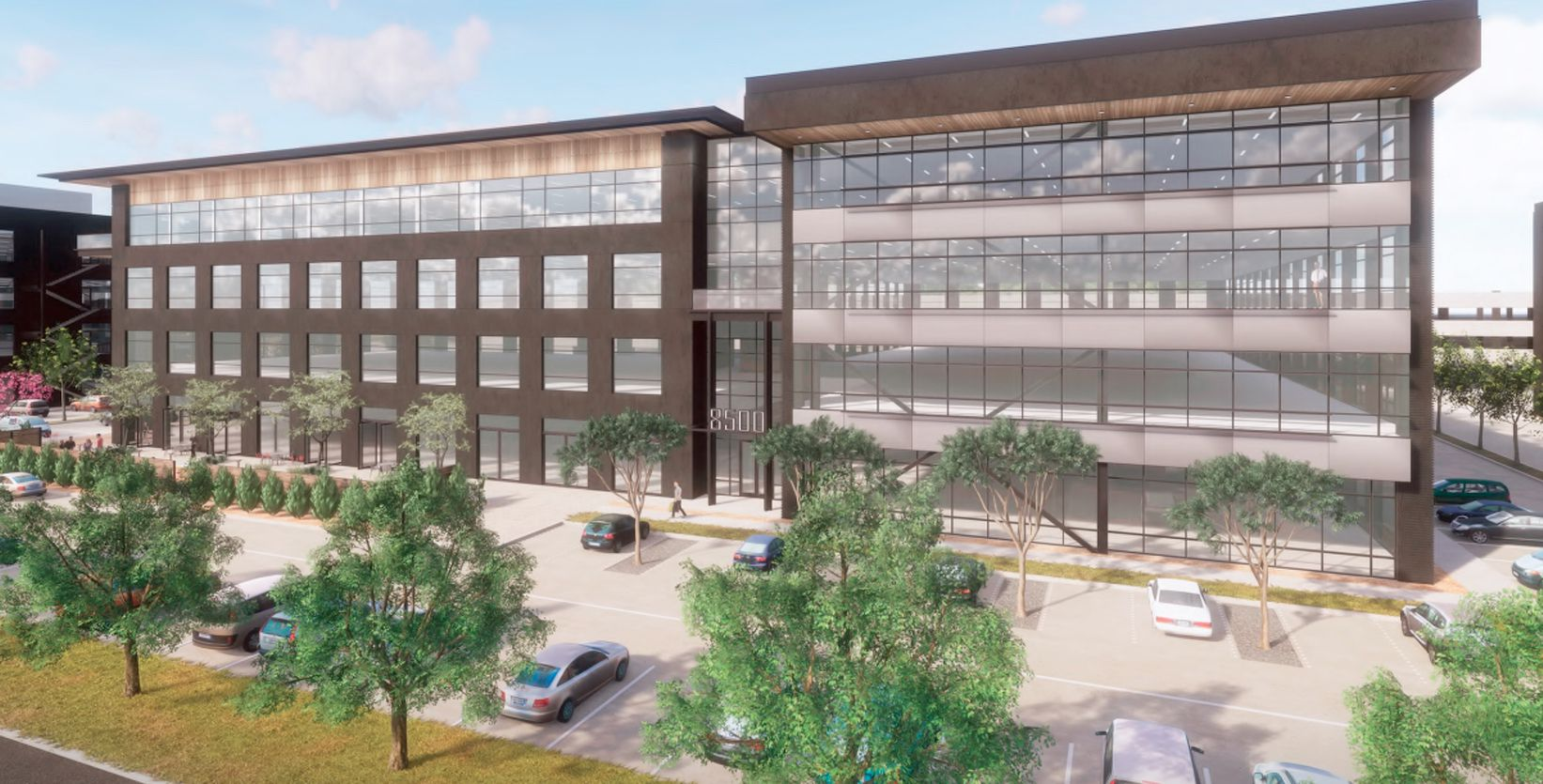 The first phase of The Braun on Belt Line project will be a 4-story building.