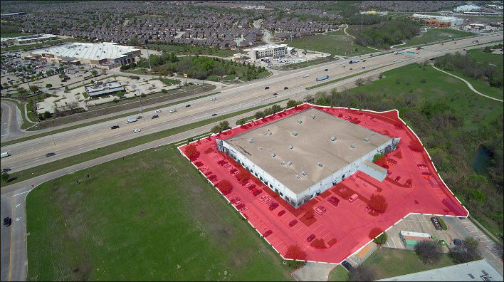 The Cornerstone Crossing building on North Central Expressway in Allen was one of two properties sold.