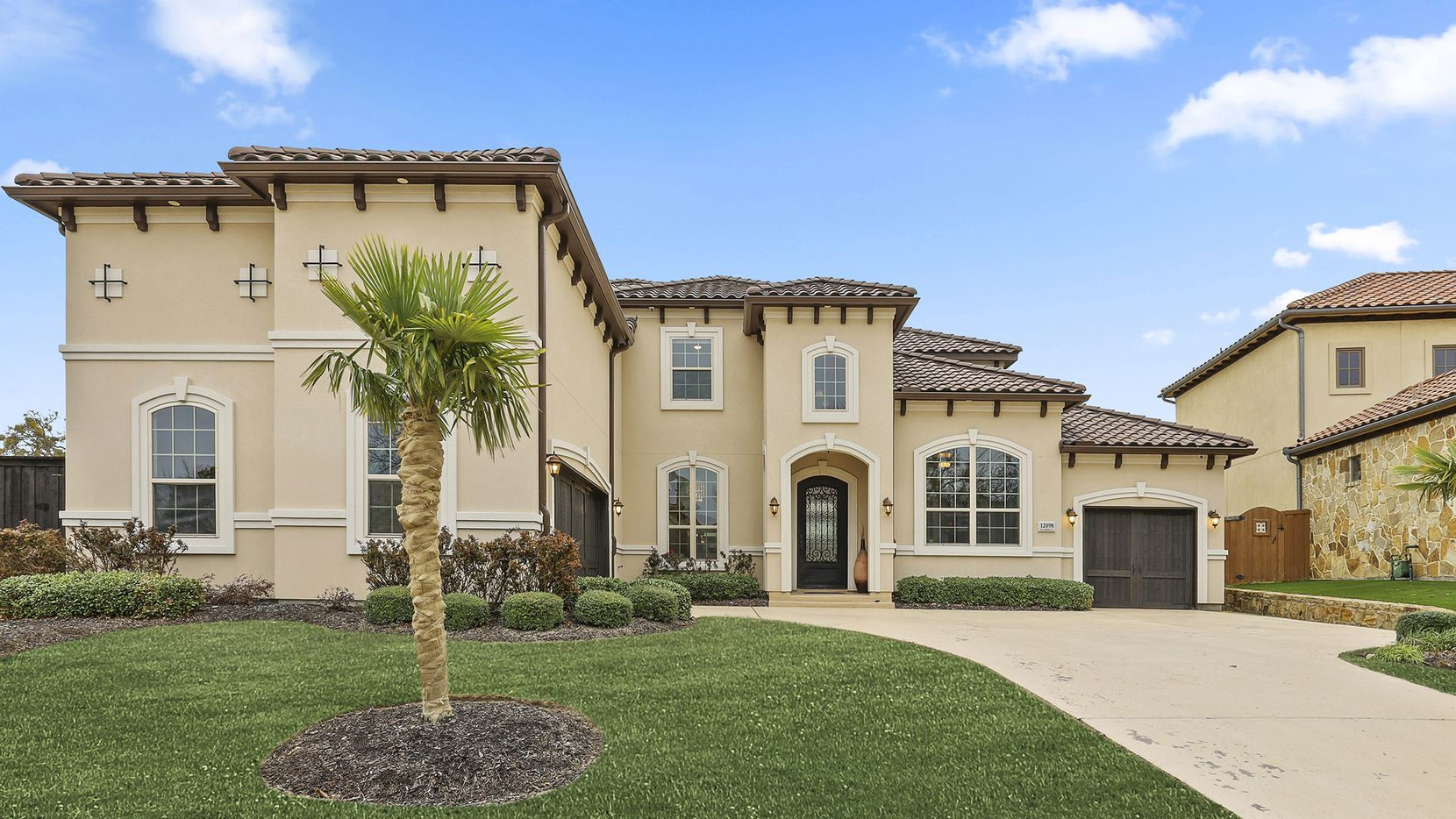 The Toll Brothers custom residence at 12098 Via Bello Court in gated Latera has five bedrooms and is listed at $1,050,000.