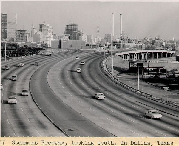 Stemmons Freeway opened in 1959 and hasn't had a major overhaul since. Highway speeds and configurations play into how long a freeway's entry and exit ramps can be.