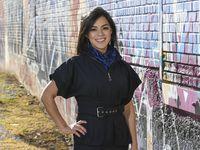 Rebecca Acuña, fue contratada por la campaña del candidato demócrata Joe Biden en Texas.