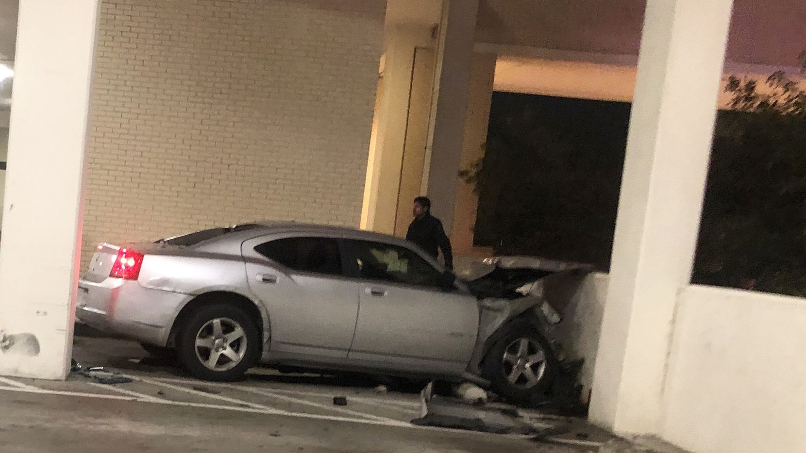 A Dodge Charger driven by Christopher Ryan Shaw, 29, struck two pedestrians, killing Yu Luo and injuring Shiguo Wang on March 11, 2019.  The accident occurred in the parking garage attached to Nordstrom at the NorthPark Center shopping center