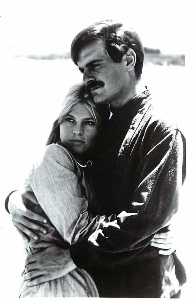 Julie Christie and Omar Sharif starred in the 1965 film version of Doctor Zhivago.