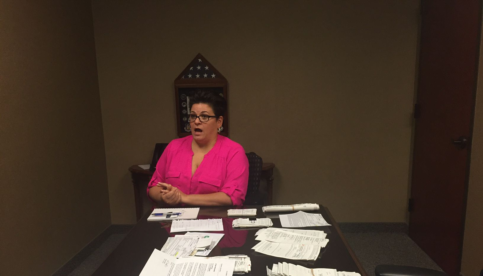 When her father died last month, Nicole Denson of Frisco learned that he'd given away $100,000 to scammers, mostly in Jamaica. He thought he won the Jamaican lottery. Well, guess what? (Dave Lieber/Staff)