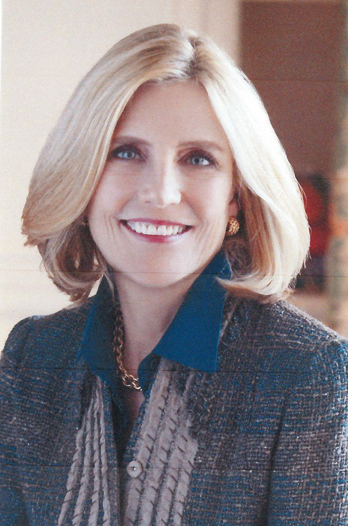 Connie O Neill, Dallas civic and philanthropic leader, is one of first three women members of the Salesmanship Club of Dallas.