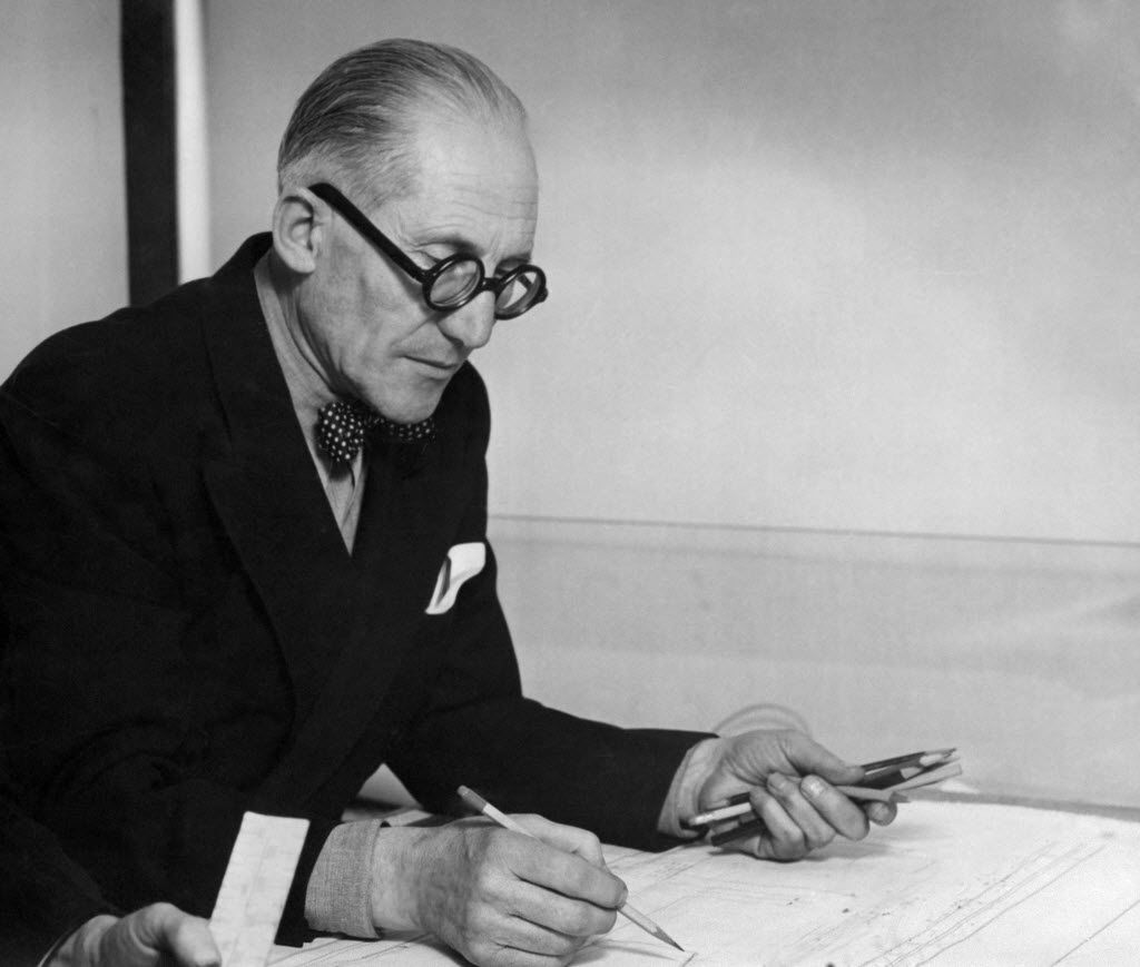 This file picture taken in 1961 shows Swiss-French architect Charles-Edouard Jeanneret, better known as Le Corbusier.