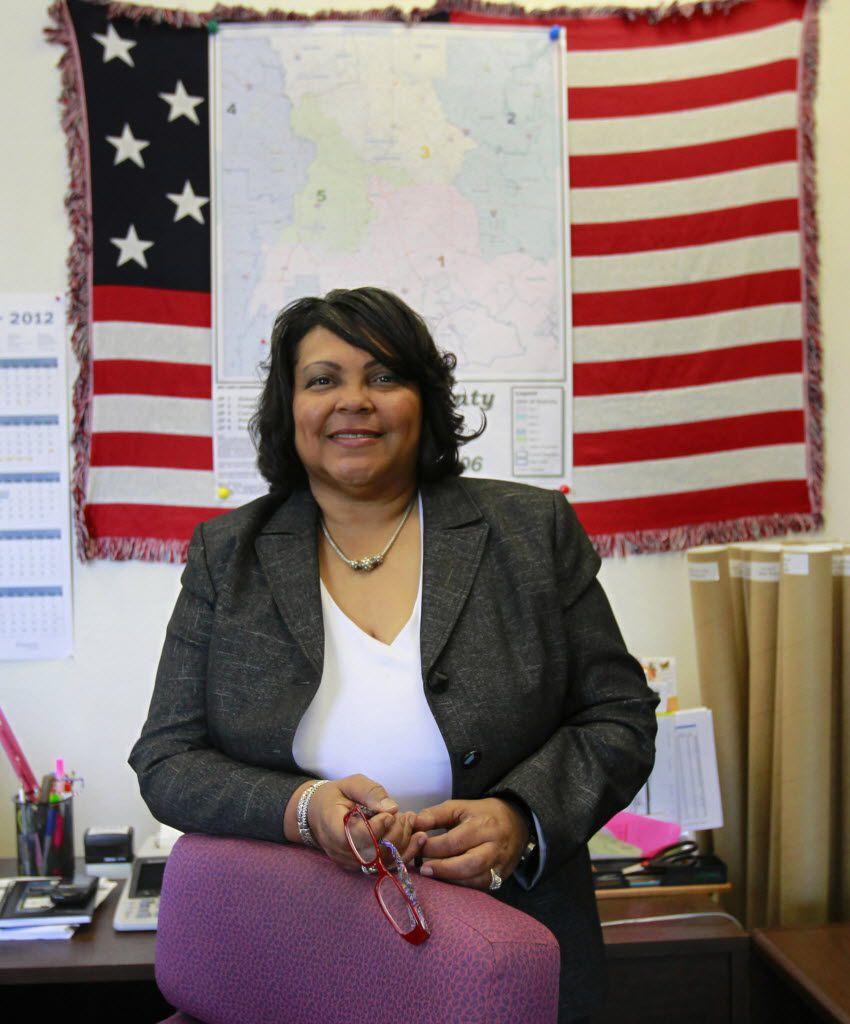 Toni Pippins-Poole, Dallas County elections administrator