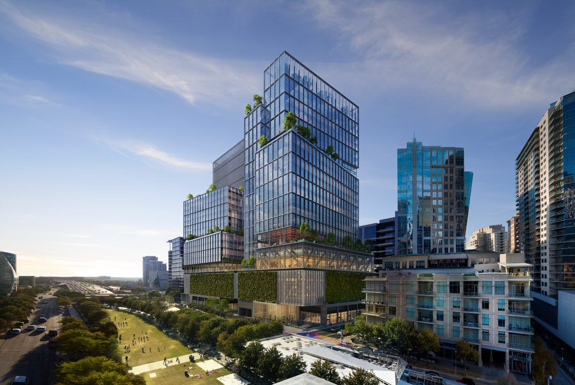 KDC's planned high-rise would have 30 floors in the first phase.