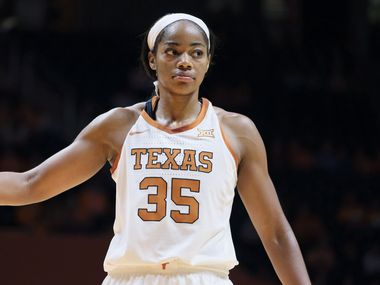 Texas forward Charli Collier (35) during an NCAA women's basketball game against Tennessee on Sunday, Dec. 8, 2019 in Knoxville, Tenn.