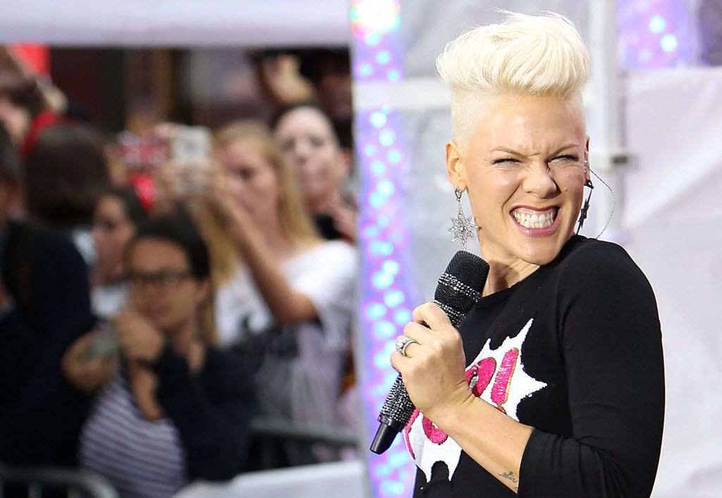 Pink is performing in Dallas on Sunday, March 24, 2019. But first? She stopped at Buc-ee's this week in Texas.