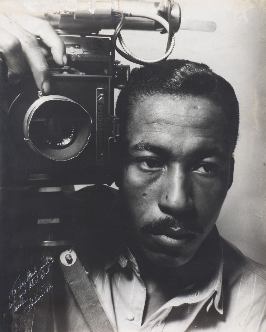 Gordon Parks took this self-portrait in 1941. He died in 2006 at age 93.