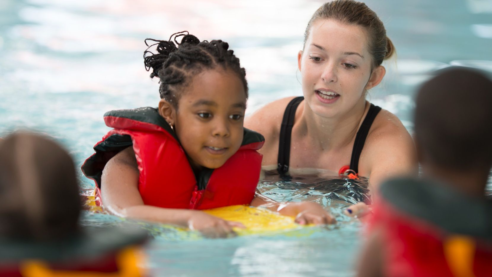 Local YMCAs promote water safety year-round and teach thousands of children to swim each spring and summer. Classes are offered free of charge in underserved communities.