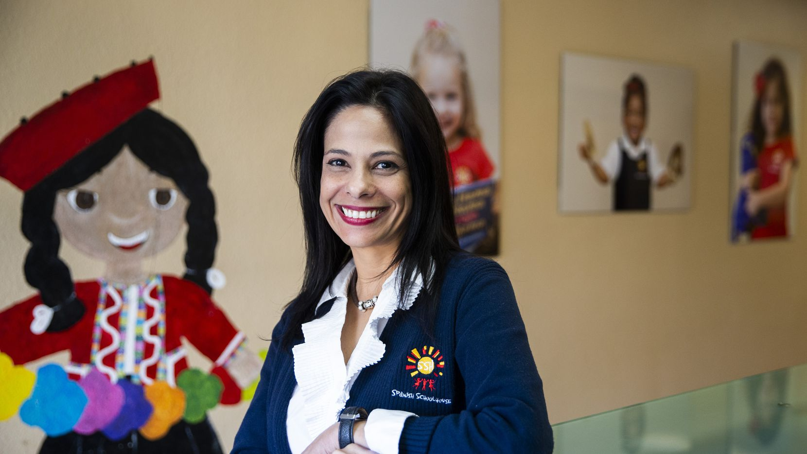 Director Jennifer Granadillo poses for a portrait on Monday, November 18, 2019 at Spanish Schoolhouse in Coppell. She is among several Venezuelan teachers at the Spanish-speaking preschool.