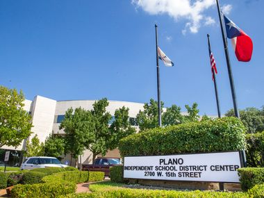 The Plano ISD building on Aug. 16, 2019.