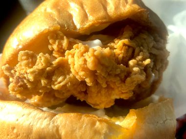 Popeyes fried-chicken sandwich is selling out in North Texas.