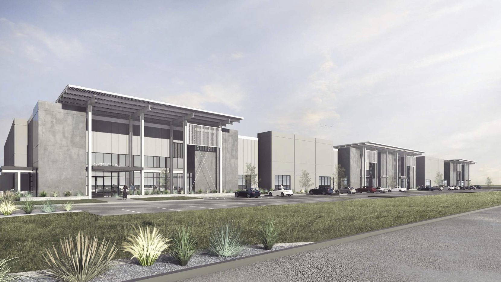 Urban Logistics plans three buildings in the Euless business park.