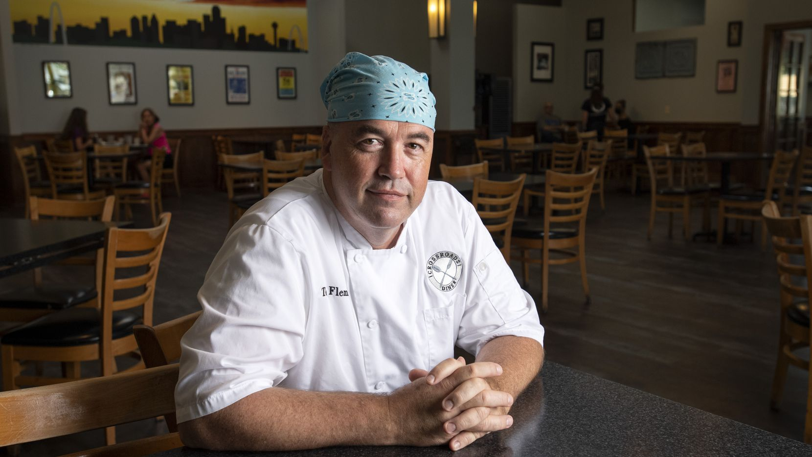 "Tom Fleming, chef-owner of Crossroads Diner, says Dallas-Fort Worth was already ""over-restauranted"" before the pandemic. ""The restaurant business was already on the brink of being cataclysmic,"" he says. ""Now, it's something I can't even find an expletive or an adverb to describe."""