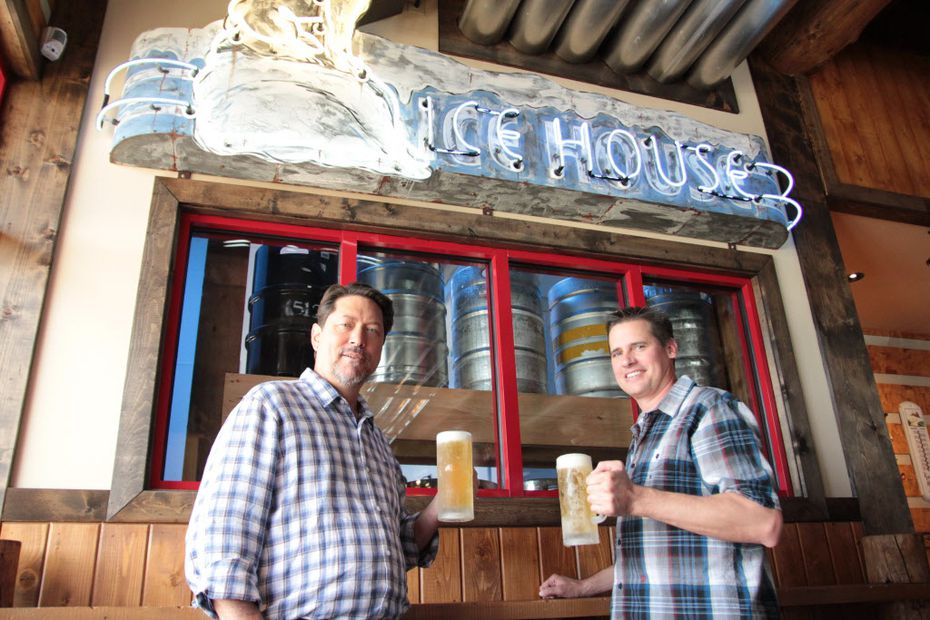 Tom Janik (right) will serve at brewmaster for Unlawful Assembly Brewing Co. He formerly helmed the brew house at Twin Peaks in Irving.