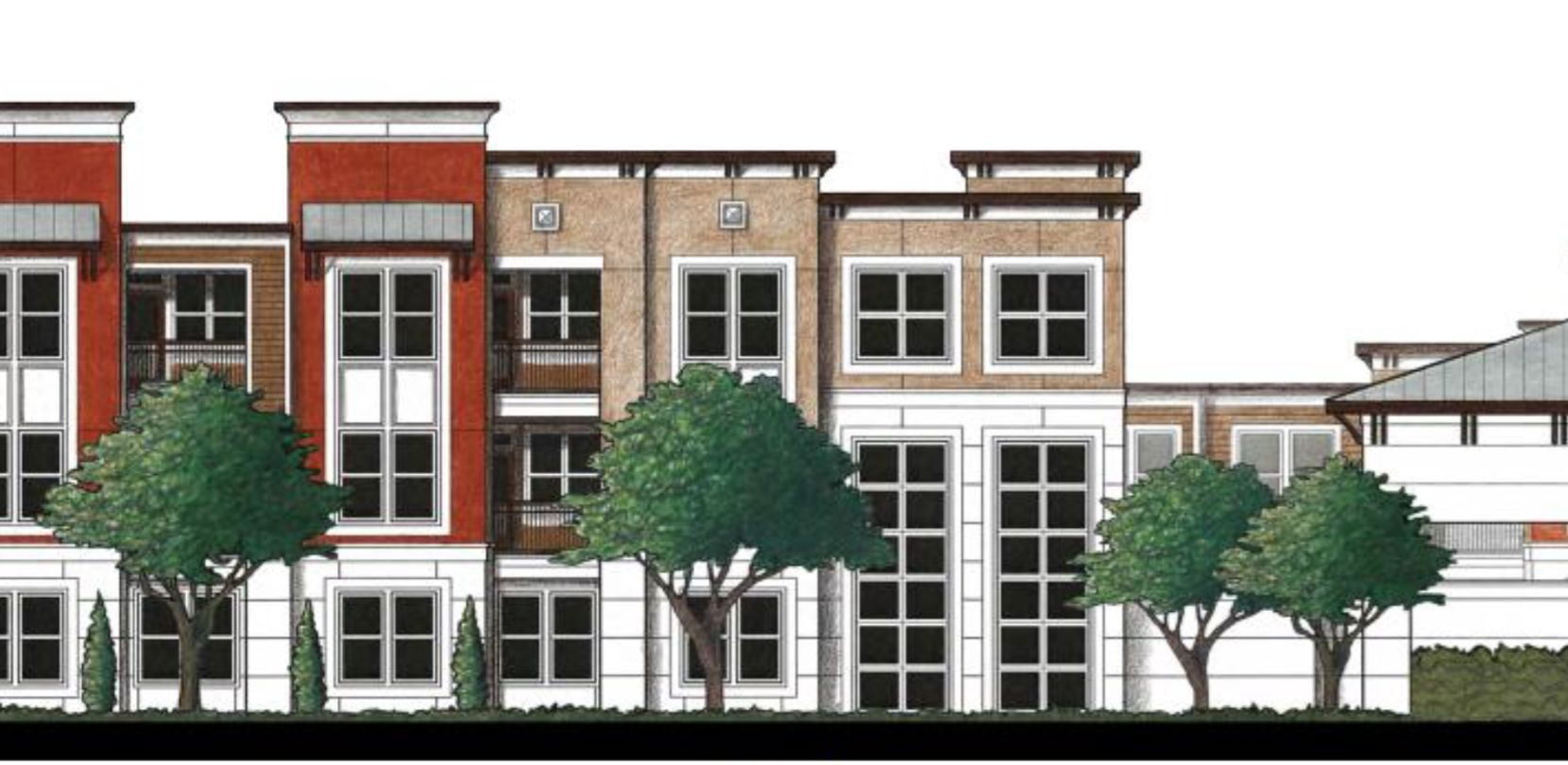 The Villas at Western Hills would be built just west of downtown Dallas.