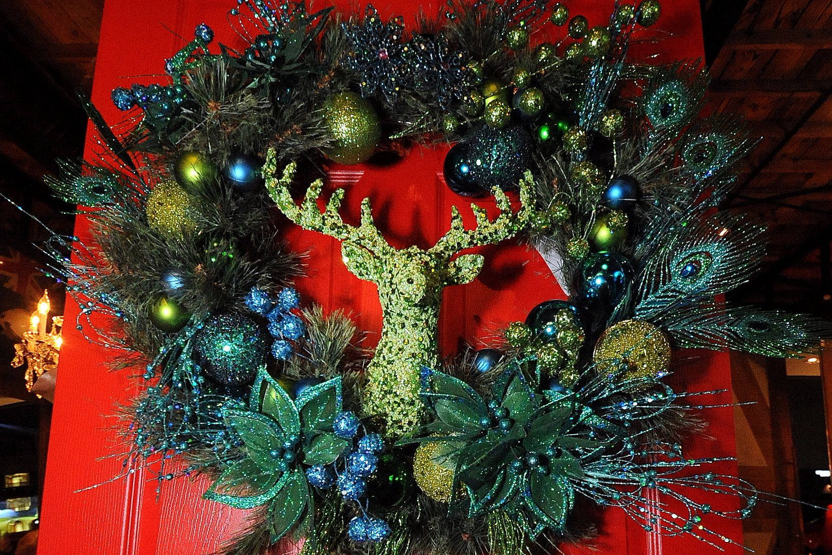 On Nov. 14, DIFFA (Design Industries Foundation Fighting AIDS) will auction off unique wreaths, like this one from a previous event.