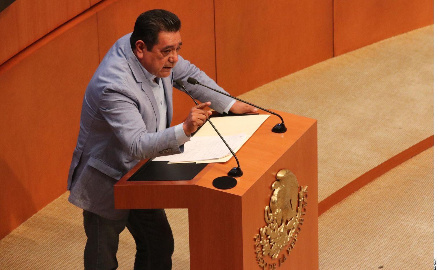 El precandidato de Morena a la gubernatura de Guerrero, Félix Salgado Macedonio, fue señalado por Marxitania Ortega Flores de acoso sexual.