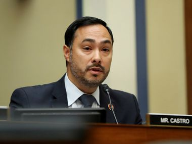 Rep. Joaquin Castro, D-San Antonio, is seeking to lead the House Foreign Affairs Committee. He's vying against two Democrats who have the advantage of seniority.