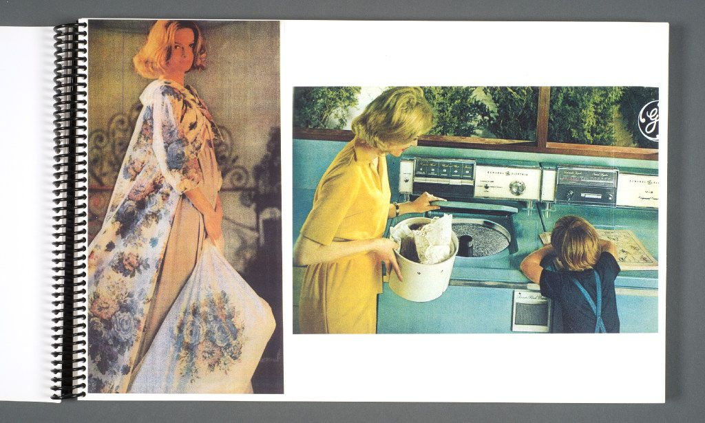 Carroll examines issues of women and domesticity, an issue front and center in shows such as 'Mad Man.' This lookbook for scenes and costume designs was part of the 'Mad Men' archive donated to the Harry Ransom Center this year at the The University of Texas at Austin. (Courtesy of UT Austin)