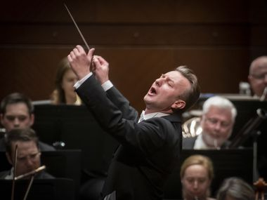 "Guest conductor Christian Arming performs Brahm's ""Academic Festival"" Overture with the Fort Worth Symphony Orchestra"