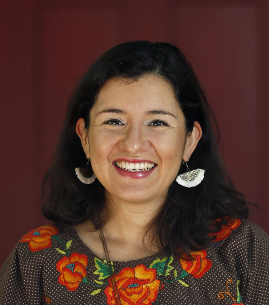"""Martha Samaniego Calderón hopes the book will lead to more doing. """"The intentional meaning behind it is to not just present the story, but give the reader the opportunity to tell their story, too, which is pretty unique,"""" she says."""