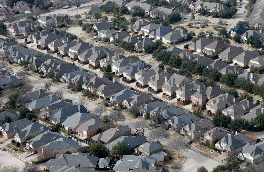 Homes in Frisco.