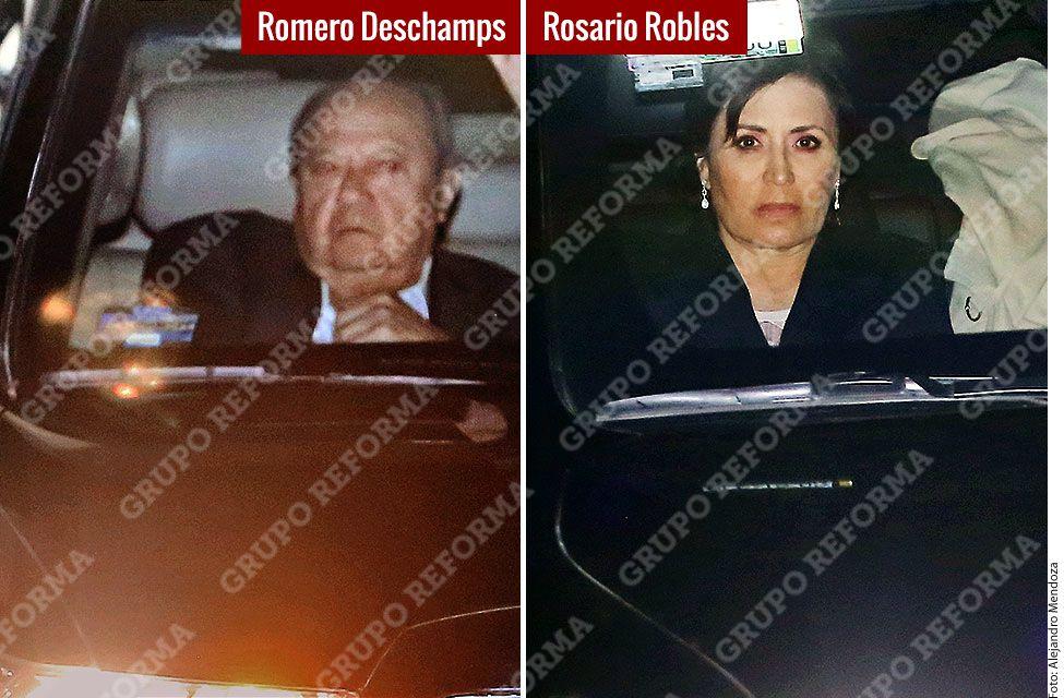Con motivo de sus 70 años, el ex Presidente Salinas reunió a representantes de los 3 poderes de la Unión, políticos y líderes sindicales./ AGENCIA REFORMA