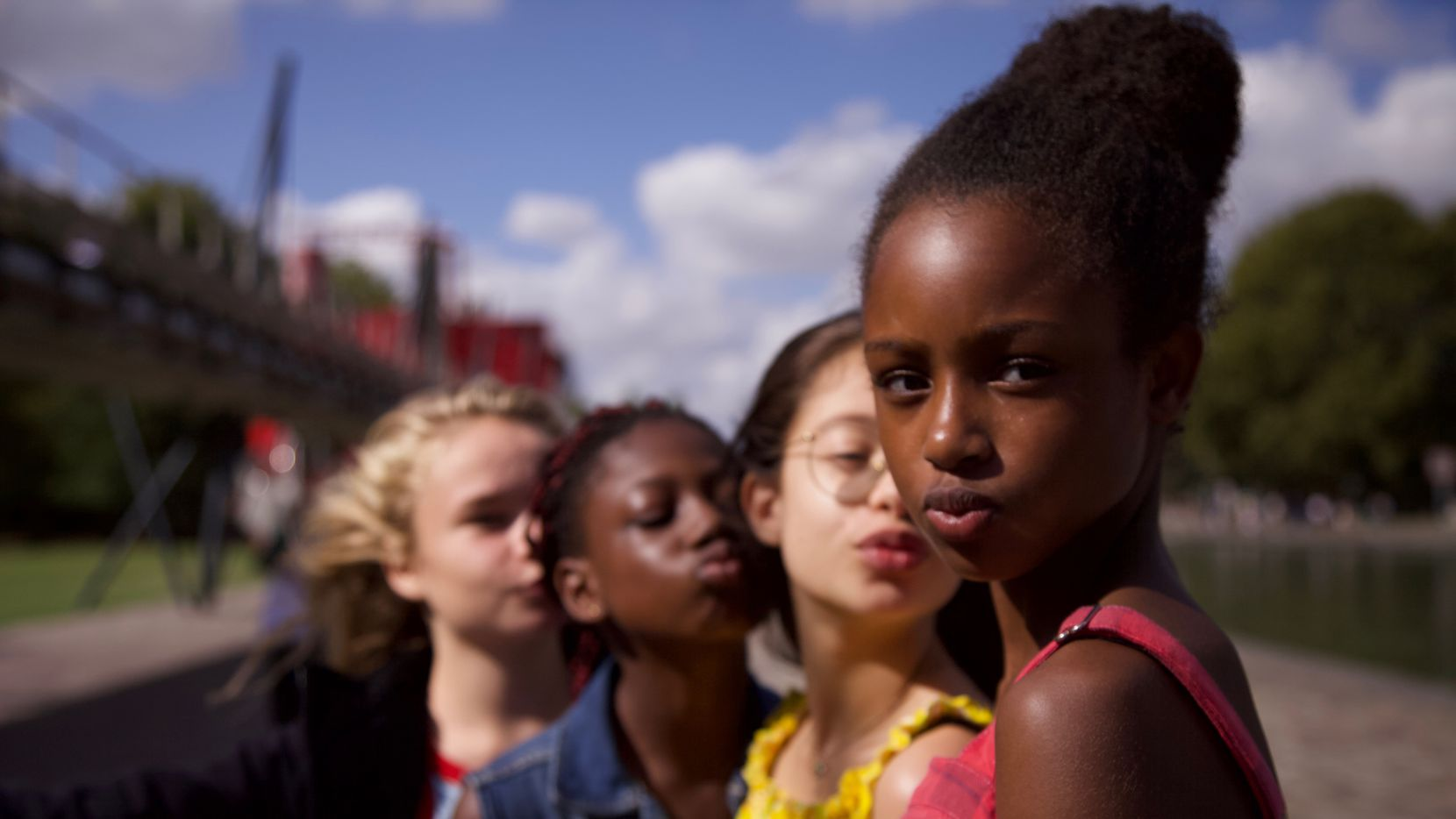 """Cuties"" centers on an 11-year-old Senegalese immigrant who joins a dance group. The film's writer and director Maïmouna Doucouré has said the film is a critique of the hypersexualization of young girls."