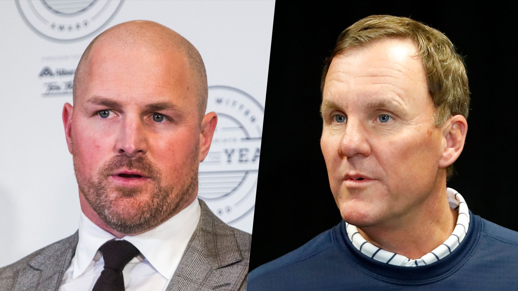 Jason Witten (left) and Chad Morris.