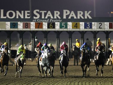 Lone Star Park will kick off the spring race season next week.