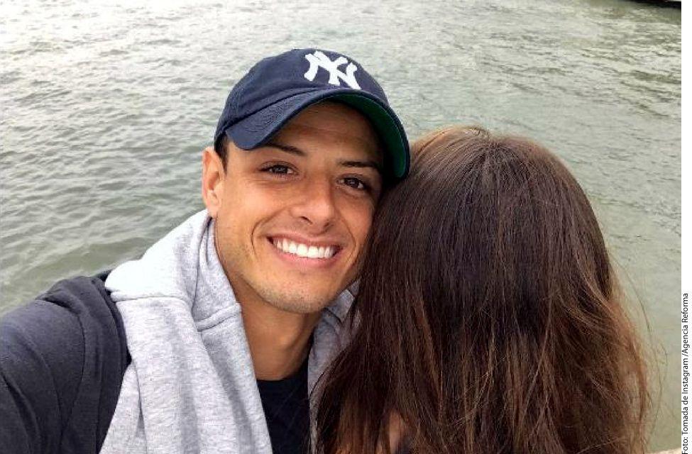 """El futbolista mexicano Javier """"Chicharito"""" Hernández podría estar estrenando novia, y ella sería la actriz española Andrea Duro./ AGENCIA REFORMA"""