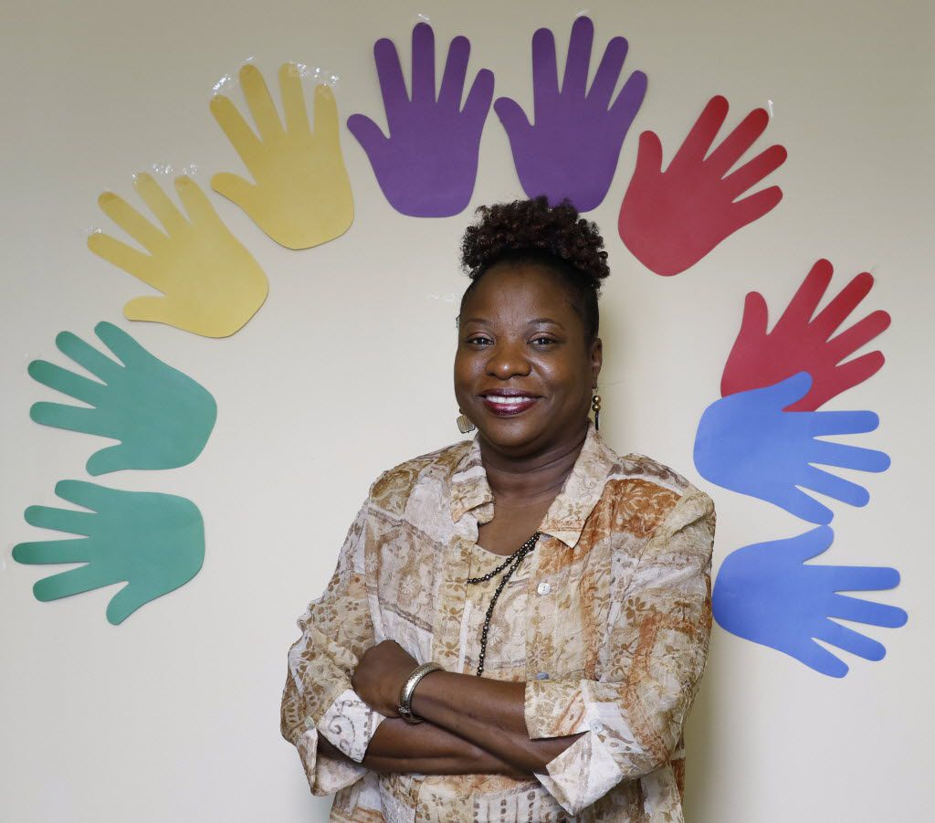 Beverly Miles, 54, is a behavioral preventionist and visitor supervisor for Hour Family Texas in Dallas. She says she got the job after volunteering for Richland College's Emeritus plus 50 Program.
