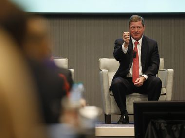 Tom Fanning, chairman, president and CEO of Southern Co., spoke during a panel titled