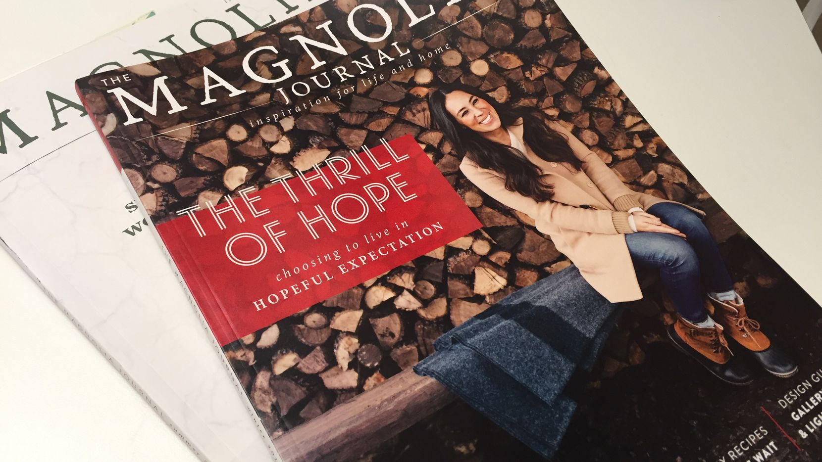 Magnolia Journal is a quarterly magazine from Chip and Joanna Gaines, Waco's celebrity couple.
